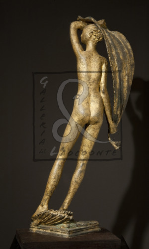 Libero Andreotti - Venere Fortuna, 1928-31 Bronzo dorato - Cm l. 25 h. 78
