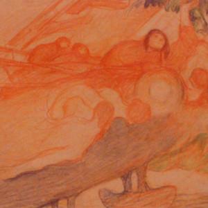 Resurrezione, 1935 Pastello Cm 25x25,1
