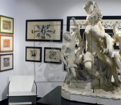 Allestimento della Mostra ARTE ITALIANA TRA LE DUE GUERRE - 2