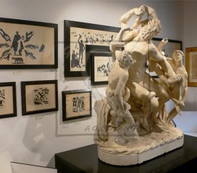 Allestimento della Mostra ARTE ITALIANA TRA LE DUE GUERRE - 5