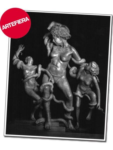 La Laocoonte di Lea Monetti - Presentazione ad ArteFiera 2016