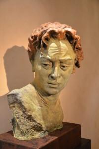 Lea Monetti, Testa di Laocoonte, bronzo, h cm 87