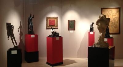 Allestimento Biennale Internazionale di Antiquariato di Roma 2014 - 3
