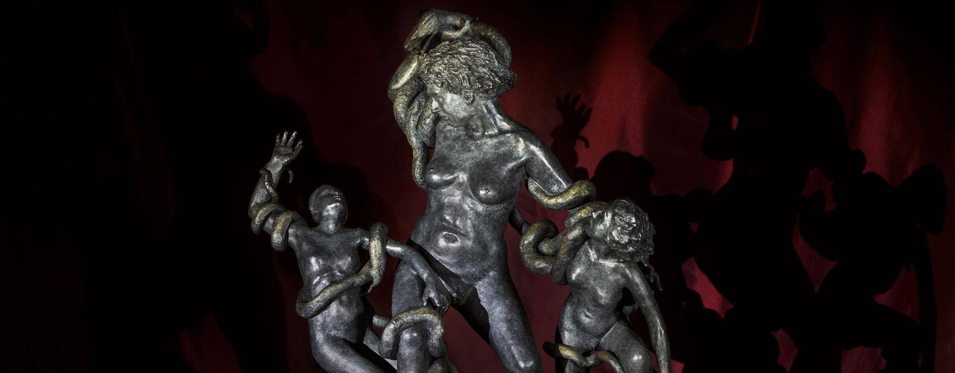 La Laocoonte, 2015, bronzo, cm 79 x 66 x 27,5
