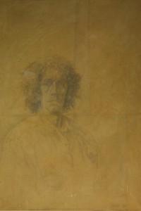Autoritratto, 1989, Litografia, cm 100x70