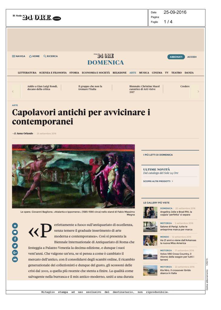thumbnail of ilsole24ore_capolavori-antihi-per-avvicinare-i-contemporanei_26-09-2016