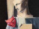 MARISA MORI (Florence 1900 - 1985) Via Lanfranchi (verso), 1926 Oil on wood, 46 x 50 cm