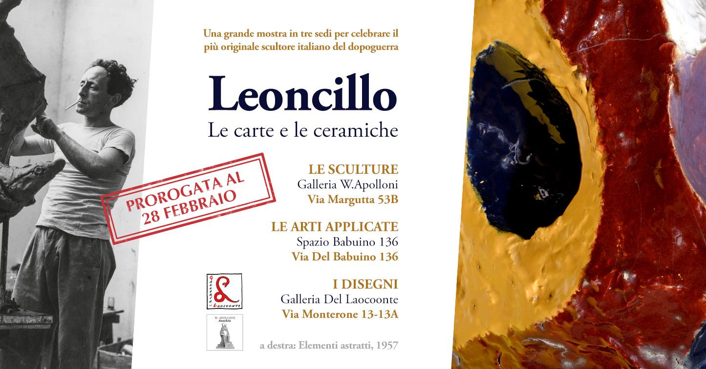 Leoncillo Leonardi in mostra a Roma fino al 28 Febbraio 2019
