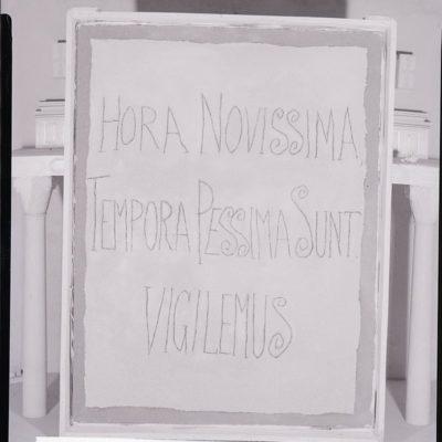 Opera di Franco Gentilini. foto di Paolo Monti