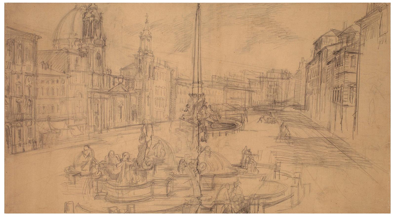 Valutazione opere d'arte moderna a Roma di primo '900