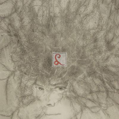 1 Ritratto di Leonor Fini, 1986 matita su carta, 41,4 x 28,5 cm