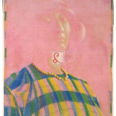 Adriana Bisi Fabbri_Autoritratto con collana, 1913_pastello su carta_cm 138x98_