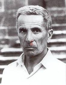 Dino Buzzati, foto ritratto dell'artista