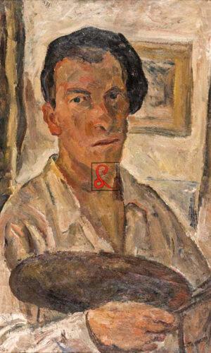 Luigi Montanarini, Autoritratto, 1933. Olio su tela, cm 70x46
