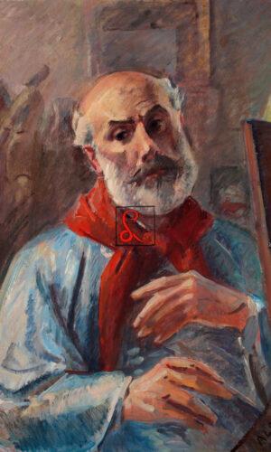 Aldo Carpi, autoritratto, 1937