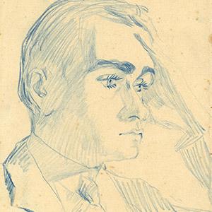 Filippo de Pisis, ritratto dell'artista