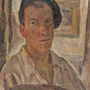 Luigi Montanarini, pittore italiano (autoritratto)
