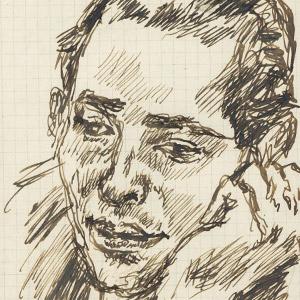 Primo Conti, artista (ritratto)