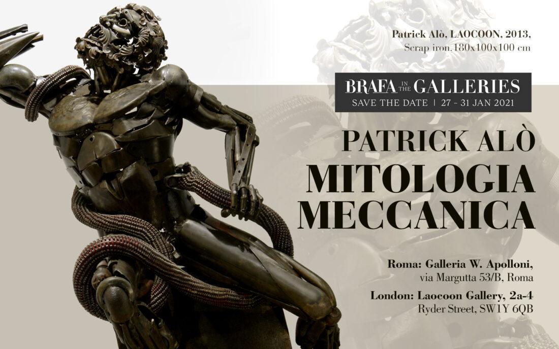 Patrick Alò, Laocoon. Brafa in the Galleries 2021
